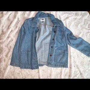 brand new denim jacket